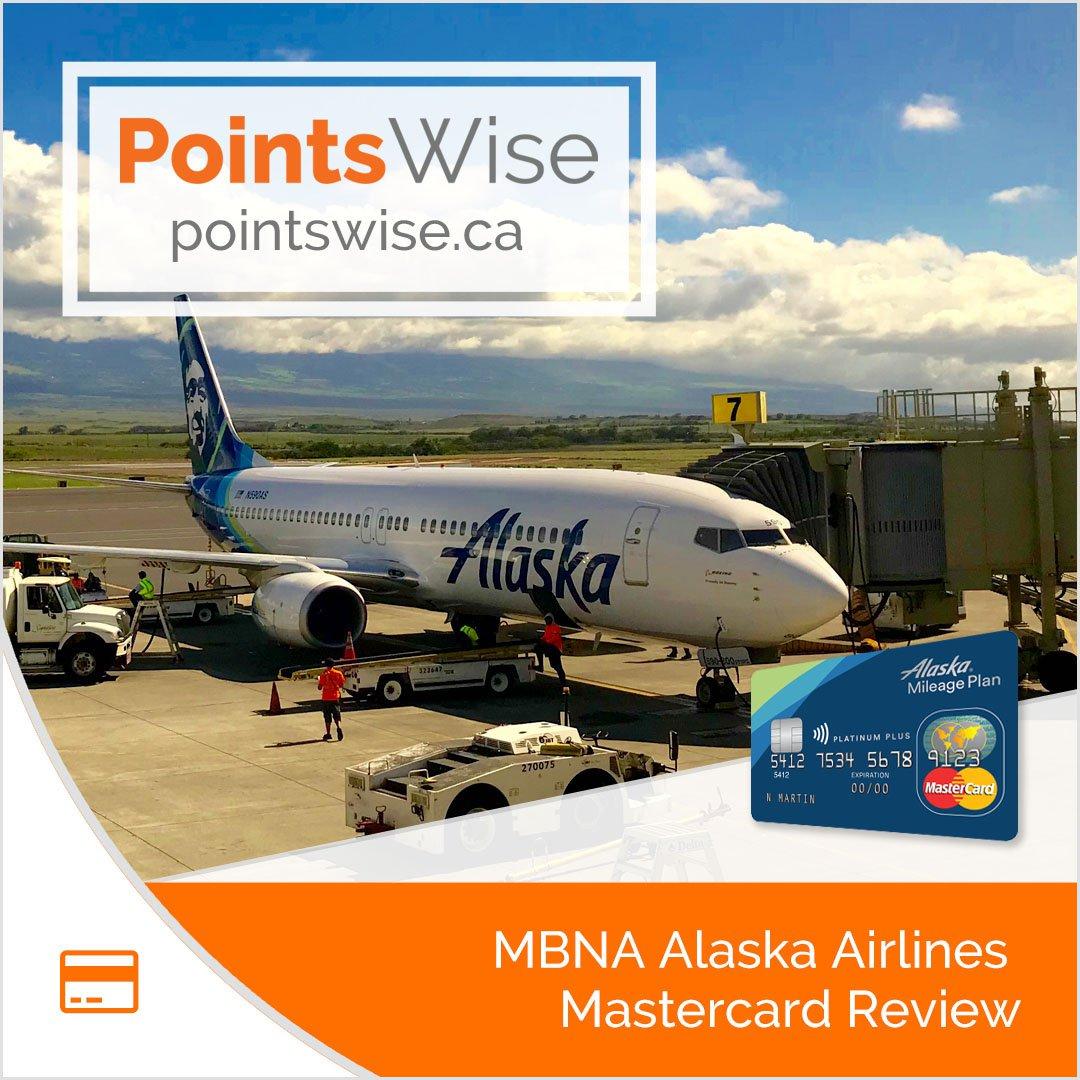 MBNA Alaska Airlines Mastercard